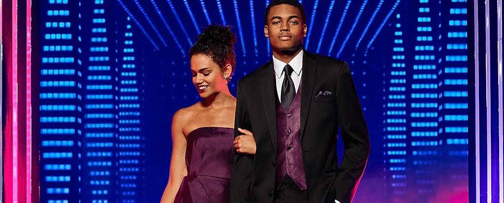 Purple Prom Suits