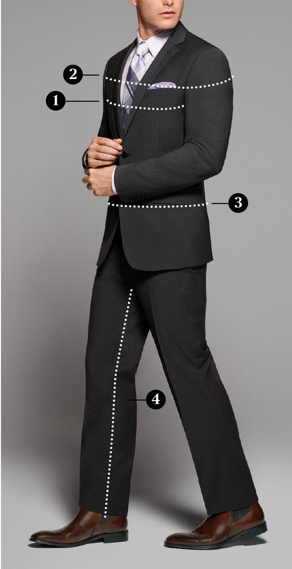 3bffd64c Suit Fit Guide - Slim Fit vs Modern Fit Suits | Men's Wearhouse