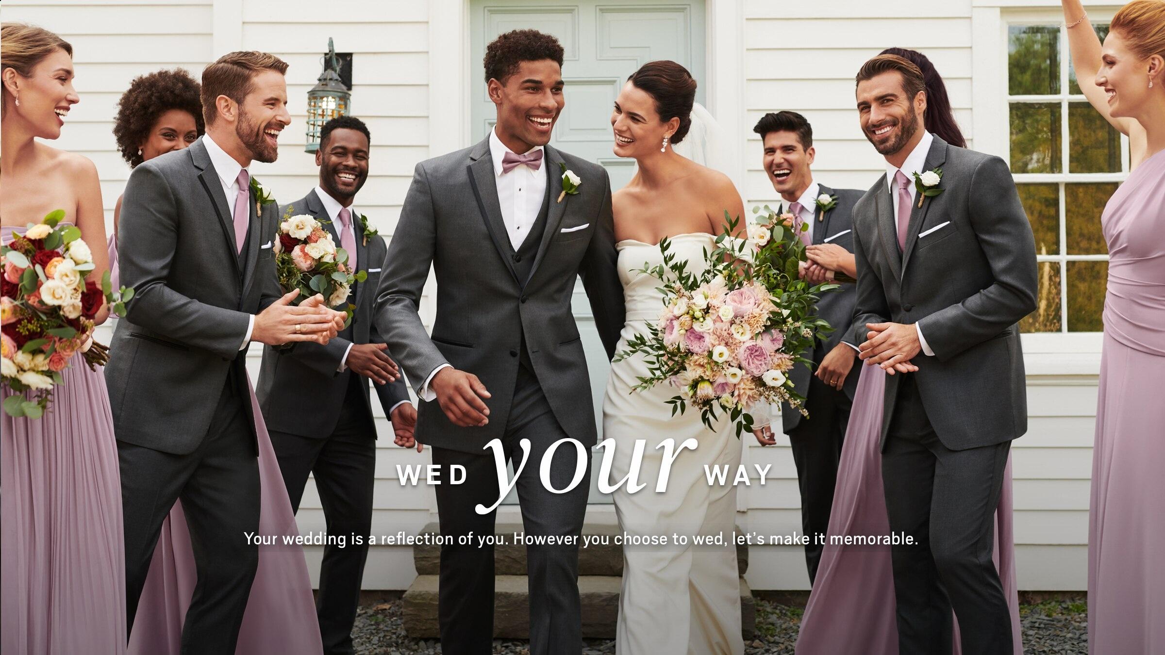 Wedding Tuxedos Wedding Suits For Men Groom Men S Wearhouse