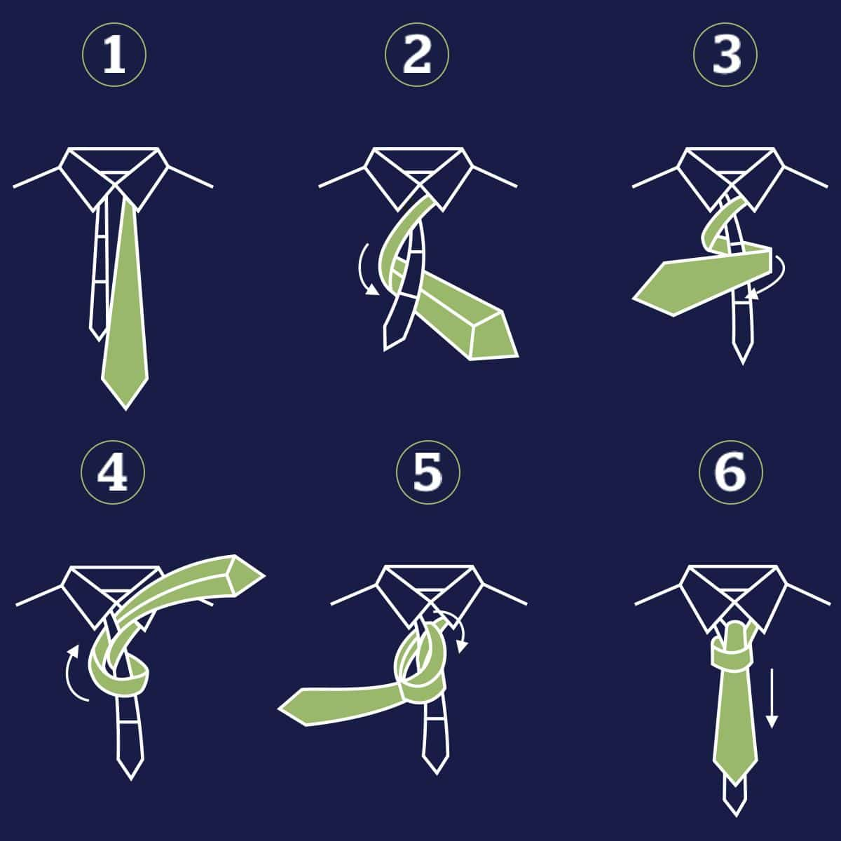 All About Ties Knots Styles More Mens Wearhouse Bow Tie Tying Diagram Image