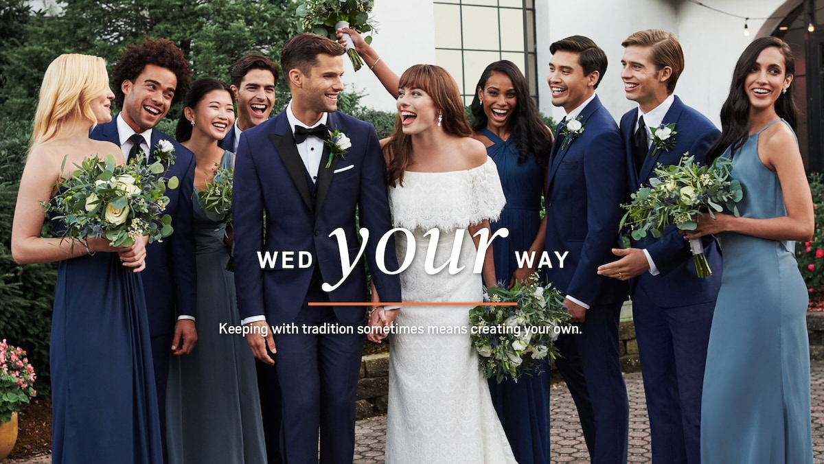 Wed your way! Keeping with tradition sometimes means creating your own.