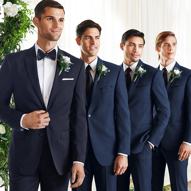 Wedding Attire Rental: Tuxedo Rental, Men's Tuxedos For Rent