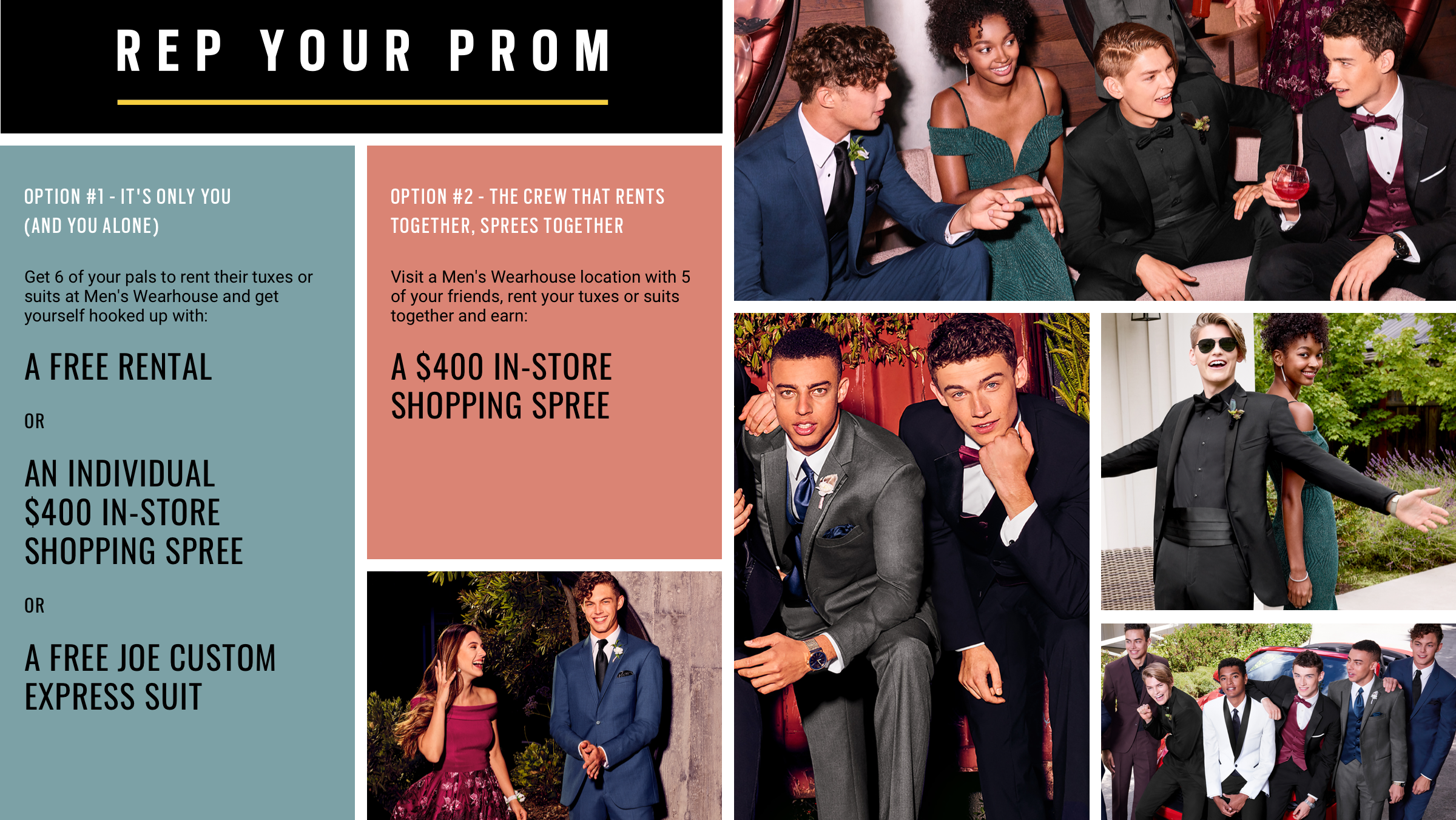 45a42aa3899 Prom Tuxedos   Suits for Rent