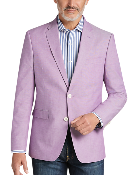 415d7bc7b Tommy Hilfiger Lavender Slim Fit Sport Coat - Men's | Men's Wearhouse