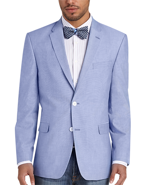 a25000eeb Tommy Hilfiger Blue Chambray Slim Fit Sport Coat