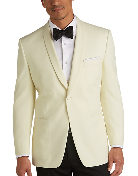 Pronto Uomo Cream Modern Fit Dinner Jacket - Men\'s Tuxedos | Men\'s ...