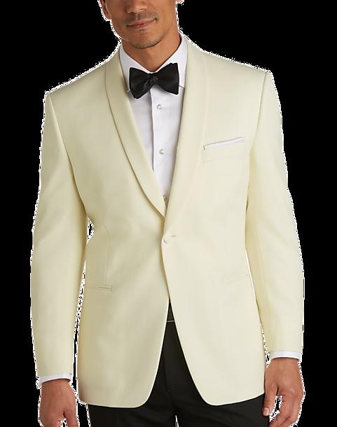 90d2b2385 Pronto Uomo Cream Modern Fit Dinner Jacket - Men's Sport Coats ...