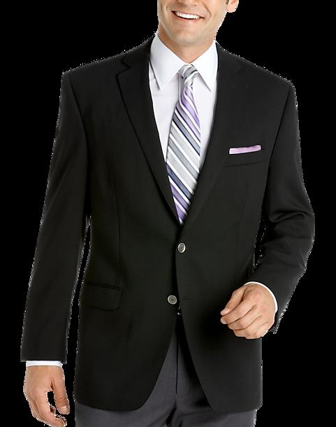 037e21ae4b11 Calvin Klein Black Slim Fit Blazer - Men's Sport Coats | Men's Wearhouse