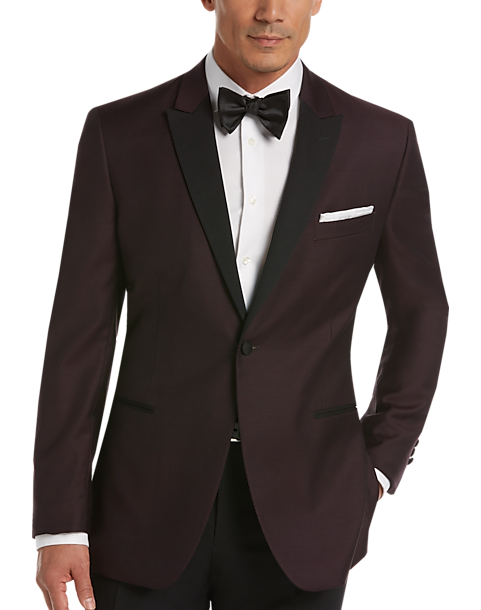 Egara Wine Slim Fit Dinner Jacket - Men's Tuxedos | Men's Wearhouse