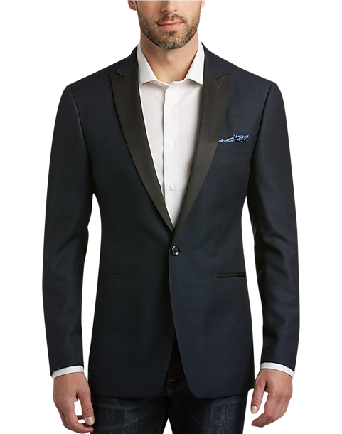 484e5782ae1 Calvin Klein Navy Slim Fit Formal Dinner Jacket - Men's Suits ...