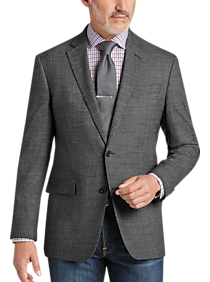 ed6bce5c1485 Mens Blazers & Sport Coats, Clearance - Awearness Kenneth Cole Gray Tic Slim  Fit Sport
