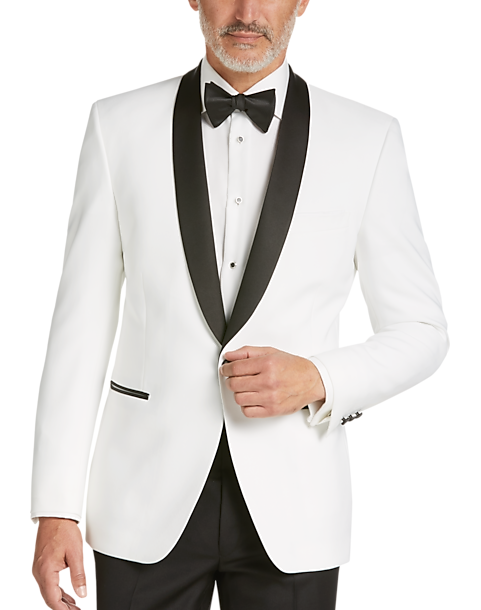 d8bbe2d09 Egara White Slim Fit Dinner Jacket - Men's Sport Coats | Men's Wearhouse