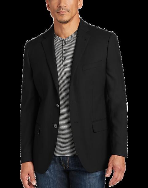 ad2f43b0c2a JOE Joseph Abboud Black Slim Fit Blazer - Men s Sport Coats