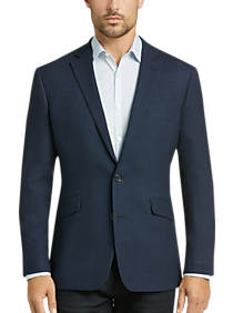 f2061d5bc6da Mens Clearance - Awearness Kenneth Cole Navy Tic Slim Fit Sport Coat - Men's  Wearhouse