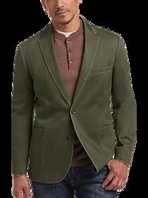 1 Like No Other Olive Slim Fit Sport Coat
