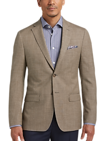 4b14fa83db2 Mens Clearance - Lauren by Ralph Lauren Tan Modern Fit Sport Coat - Men s  Wearhouse