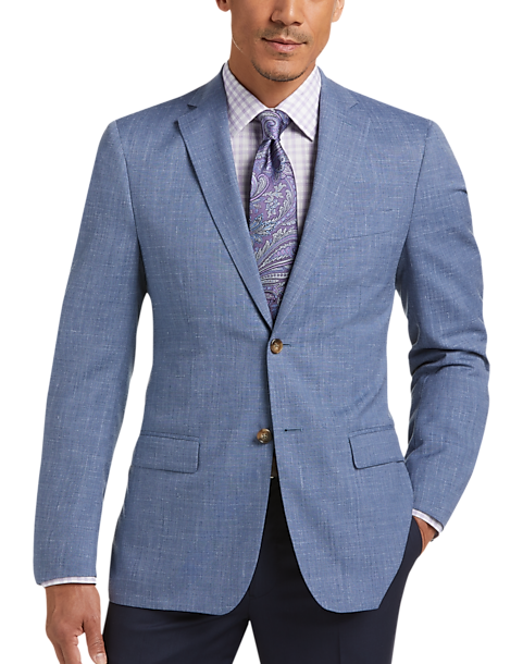 a27f6c8b Lauren by Ralph Lauren Blue Modern Fit Sport Coat - Men's Sport Coats |  Men's Wearhouse