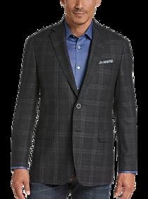c097be2c Mens Sport Coats - Joseph Abboud Charcoal Plaid Modern Fit Sport Coat - Men's  Wearhouse