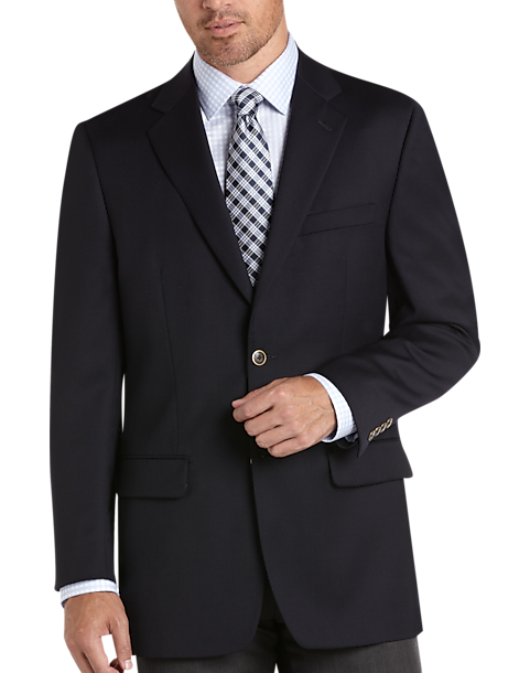 Joseph & Feiss Gold, Classic Fit Navy Blazer - Mens Blazers, Blazers & Sport