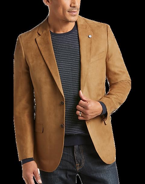 d4c42920 Nautica Tan Microsuede Modern Fit Sport Coat - Men's Sport Coats ...