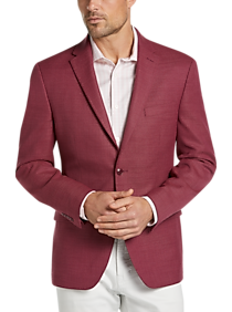 4ab8a5569e7 Mens Home - Tommy Hilfiger Red Slim Fit Sport Coat - Men s Wearhouse