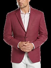 57b9e42b Mens All Big & Tall, Big & Tall - Tommy Hilfiger Red Slim Fit Sport