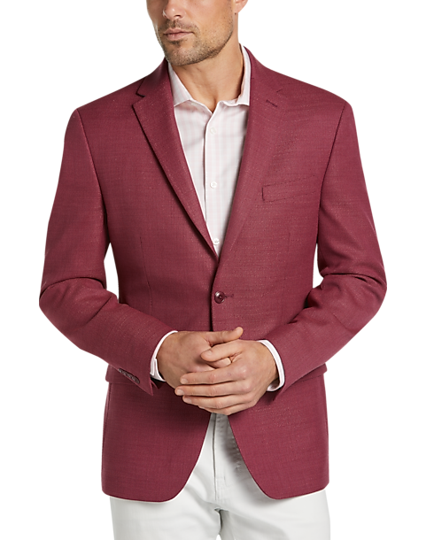 025f25c38 Tommy Hilfiger Red Slim Fit Sport Coat - Men's Sport Coats | Men's ...
