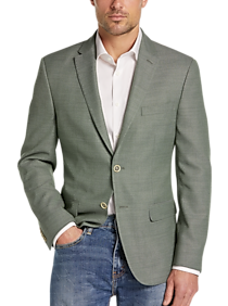 Tommy Hilfiger Green Slim Fit Sport Coat