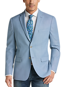 Tommy Hilfiger Light Blue Slim Fit Sport Coat
