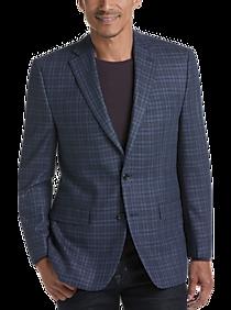 796dc7af Lauren by Ralph Lauren Navy Check Classic Fit Sport Coat