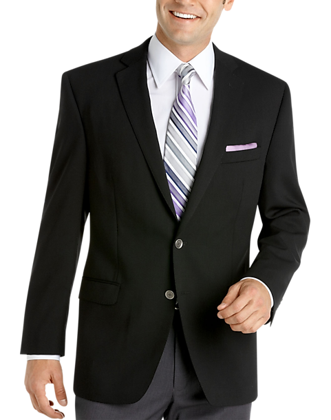Calvin Klein Slim Fit Black Blazer - Men's Blazers | Men's Wearhouse