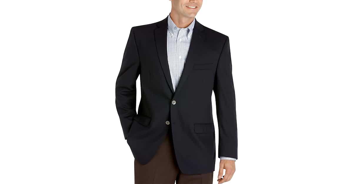 Calvin Klein Slim Fit Navy Blazer - Men's Blazers | Men's Wearhouse