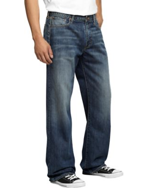 3b4ef66e3a Lucky Brand 181 Medium Wash Relaxed Fit Jeans - Men's Pants | Men's ...