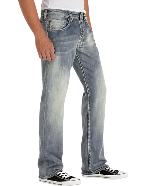 Buffalo David Bitton Mens Classic Fit Jeans