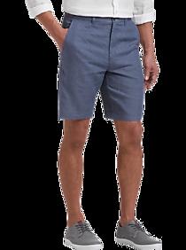 87bcede56e Joseph Abboud Indigo Modern Fit Linen Shorts