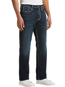 Silver Jeans Co. Grayson Blue Dark Wash Classic Fit Jeans