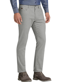 Joseph Abboud Gray Flannel Modern Fit Pants