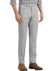 JOE Joseph Abboud Medium Gray Slim Fit Casual Pants (various colors)
