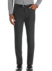 JOE Joseph Abboud Charcoal Gray Extreme Slim Fit Pants (Charcoal Gray)