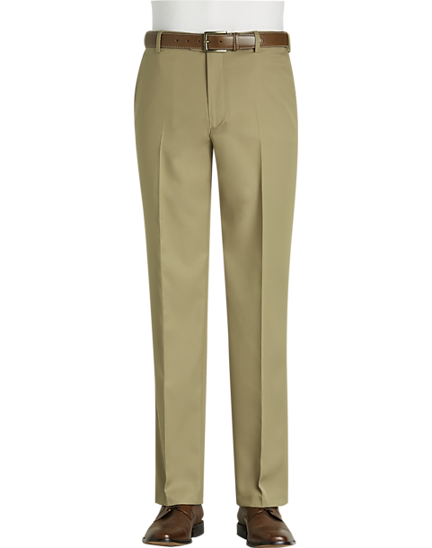 Joseph & Feiss British Tan Modern Fit Golf Stretch Pants (British Tan / Black)