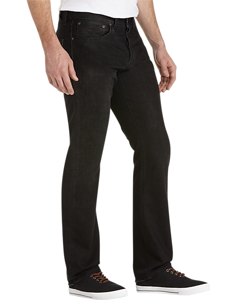 8a98f04e5 Lucky 121 Brand Bob Dylan Black Slim Fit Jeans - Men's Clearance ...