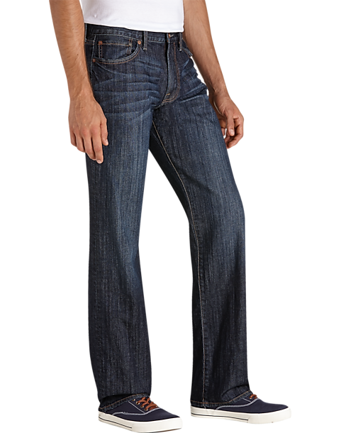 a08c3caf Lucky Brand 361, Jaxson Dark Wash Classic Fit Jeans - Men's Pants ...