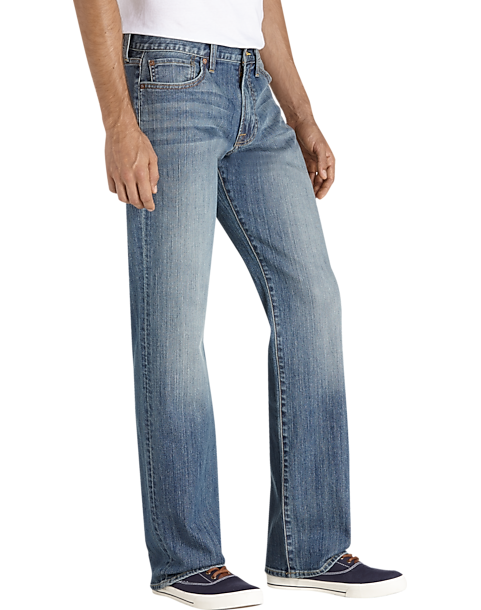 7741f6d9 Lucky Brand 361, Chicago, Medium Wash Classic Fit Jeans - Men's ...