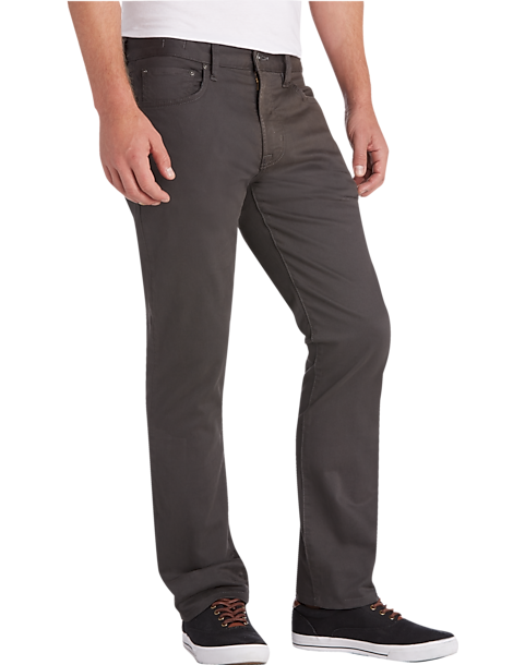 3-Pack Joseph Abboud Charcoal Slim Fit Pants