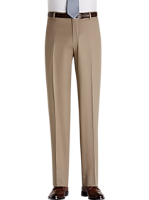 JOE Joseph Abboud Tan Modern Fit Slacks