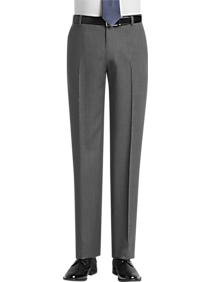 JOE Joseph Abboud Light Gray Modern Fit Pants