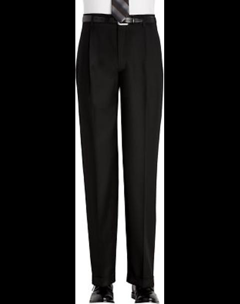 joseph feiss black classic fit dress pants men s dress pants