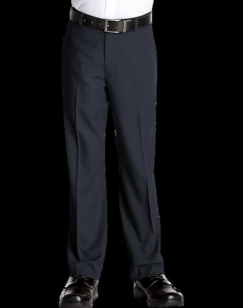 f99e0ca0077bf Calvin Klein Boys Husky Fit Navy Suit Separates Dress Slacks - Men s ...