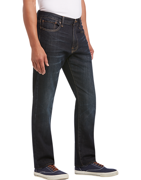 Dark Wash 410 Athletic Fit Jeans - Men s Jeans - Lucky Brand Jeans ... 2d6c761d242c