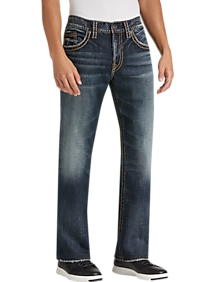 91b37460 Mens Jeans, Pants - Silver Jeans Co. Gordie Dark Blue Wash Relaxed Fit Jeans